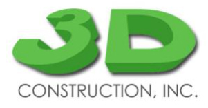 3D Construction Inc.