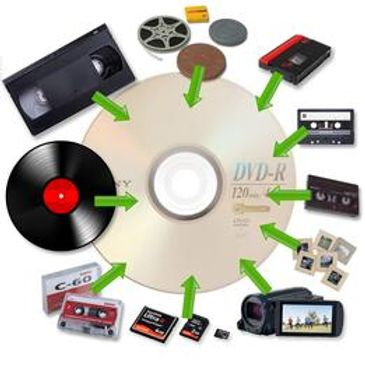 video tape transfers to DVD