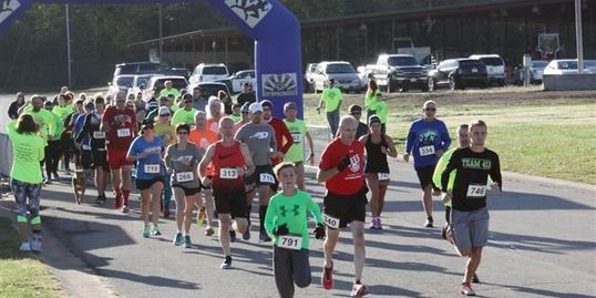Lebanon Rotary Club's Route 66  5K Run.