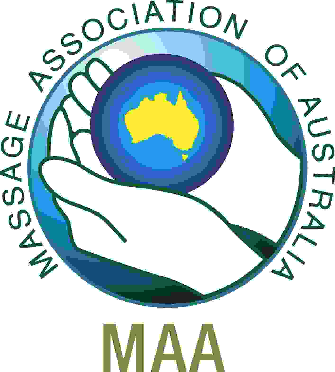 Massage Association of Australia MAA logo