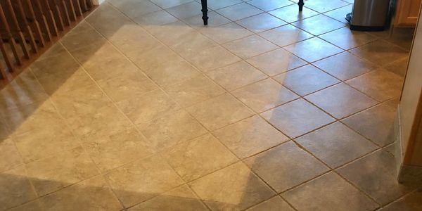 A1 Carpet Cleaning & Restoration restoring tile and grout. Serving Bel Air, Forest Hill and Abingdon