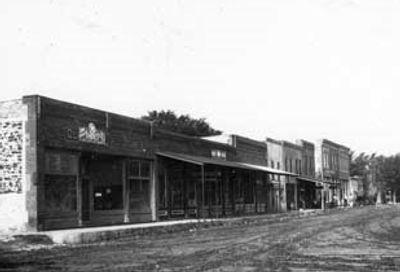 Brown Street, Greeley, Kansas about 1913