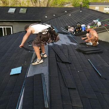 Metal Roofing Companies installing  stone coated metal roofing in Cody, WY