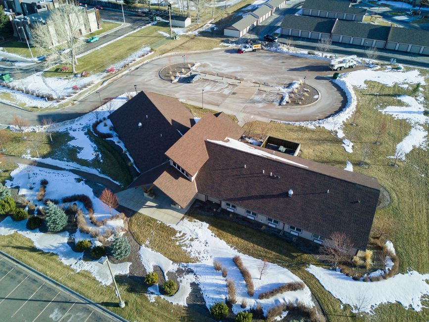 Billings Metal Roofing on a Commercial Roofing project installing one of our best roofing systems