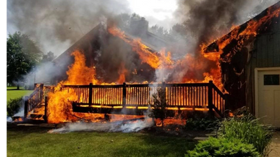 metal roofing systems protect House on Fire