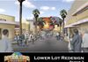 "Created previs and presentations for ""Lowerlot"" remodel at Universal Studios, Hollywood"