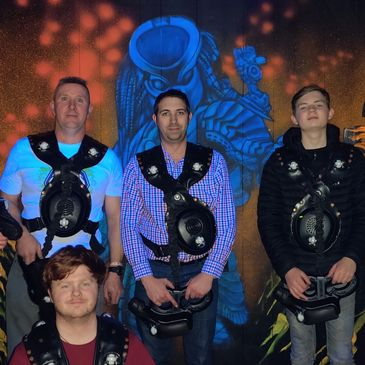 Family activity Lasertag Gloucester