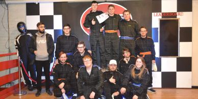 Go Karting University of Gloucester