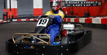 Honda powered corporate karts @ Jdr Karting Gloucester