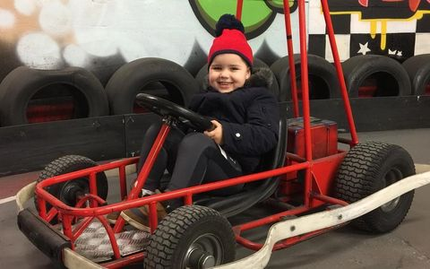 A fun activity for young children - go karting in Gloucester