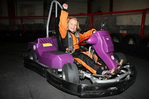 New Electric Cadet Karts using LiPo batteries and brushless motors great fun for kids parties