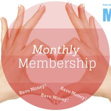 Monthly membership and massage package deals