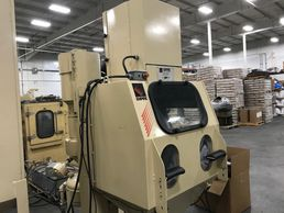 Link to complete list of used equipment, photo of sandblasting cabinet