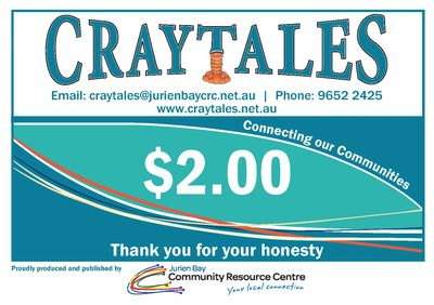 Craytales Newspaper, local news, Jurien Bay, Cervantes, Green Head, paper, printed, fortnightly