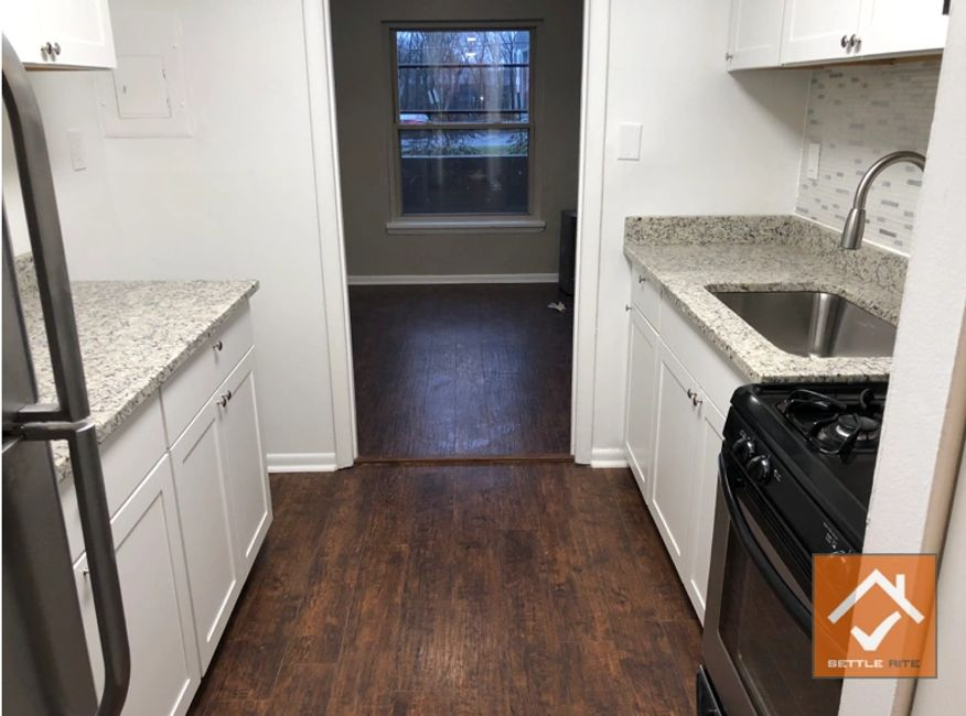 Updated kitchen and flooring which increased this Suburban Maryland's home value by 90%.