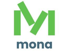 logo for Mona Foundation, which will receive proceeds from Daylight Forever: A Memoir.