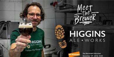 Meet the Brewer - Paul Higgins of Higgins Ale Works