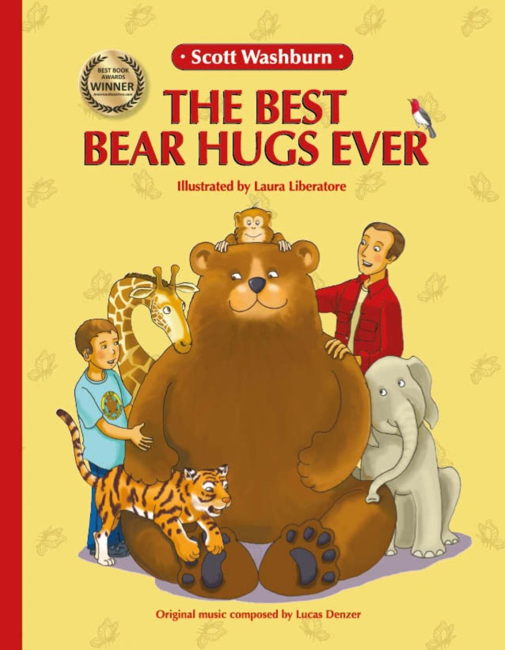 The Best Bear Hugs Ever, cambria christmas market, hug, family, top children's book,  zoo,  animal