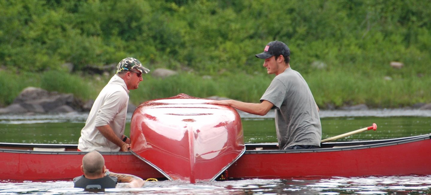 Canoeing techniques Outdoor Skills River Reading