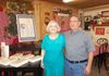 Me and husband, Richard, at Blessings Bookstore.