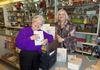 Bobbie Brantley buys a book at book signing in Farmerville, LA.