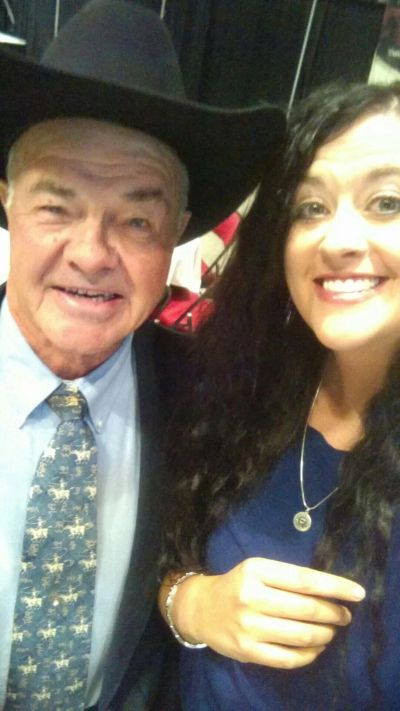 My sweet daddio and I at his 2017 Wyoming Cowboy Hall of Fame Induction