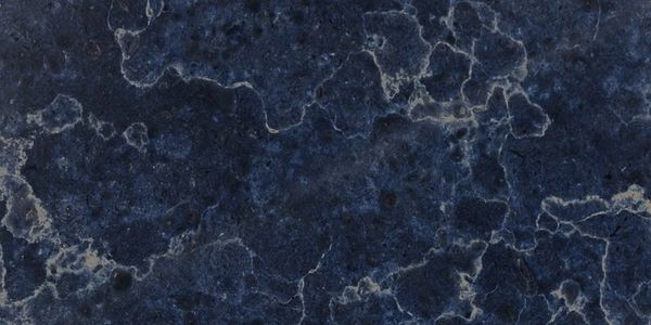A close up of blue granite slab