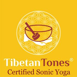 "Sound Yoga certified by Sonic Wellness Institute.  "" Sonic Yoga"""
