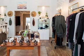 San Diego Magazine fashion article on ineffably, a sustainable + ethically driven women's boutique