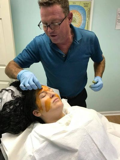 PRP face injects to help rejuvenate the facial tissue at NovaGenx in Jupiter Florida, alm Beach PRP