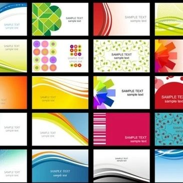 Business Card Options