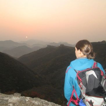 Great Wall Sunset by Great Wall Adventure Club
