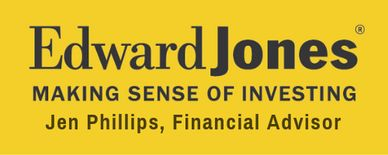 At Edward Jones (Jen Phillips, Financial Advisor), we believe a strong relationship is paramount. Meeting face to face is one of the best ways to build a lasting relationship - a simple idea that still makes sense in today's complex marketplace.