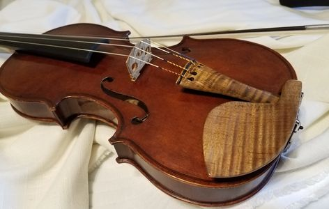 A strad made by David Chandler Burnsville NC violin maker
