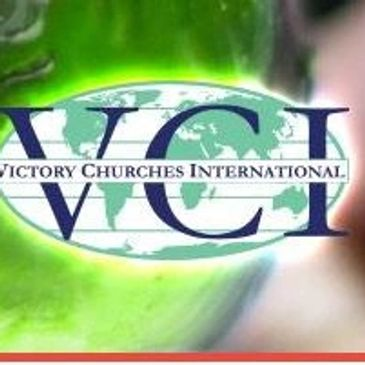 Victory Churches International World Missions picture of hand holding world globe