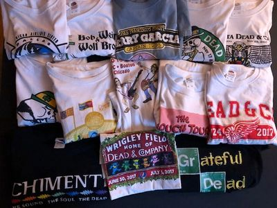 Grateful Dead, Dead & Company, music, t-shirts, Jeff Chimenti, Bob Weir,