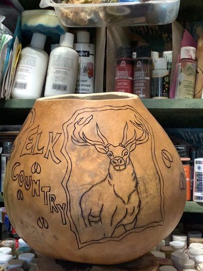 The beginning of the Elk Bowl