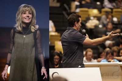 Beth Moore inspired by Kevin Jones' apology
