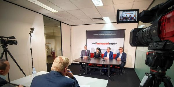 Filming the 2019 SMSF Roundtable at Benchmark media in Sydney