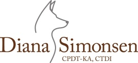 Diana Simonsen Dog Training