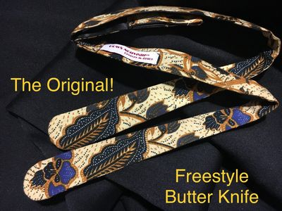 The Freestyle Butter Knife Bow Tie