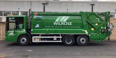 Brand new dustcarts from Wilrose mean fewer breakdowns and a reliable service. 7 day a week waste.