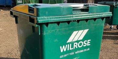 Business Waste Bin 660L bin