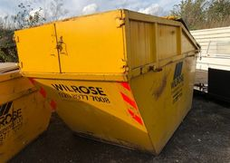 Enclosed 12 yd Skip for Hire