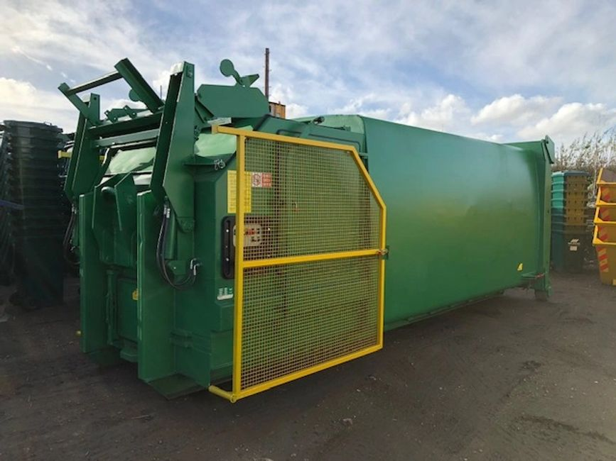 Compactor Skip by Wilrose Environmental Ltd.