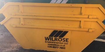 Metal skips from Wilrose.
