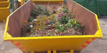 Garden Waste Skip in Epsom, Surrey