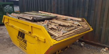 Wood skips from Wilrose.