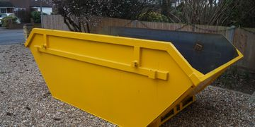 New and Clean skips in Hampton.