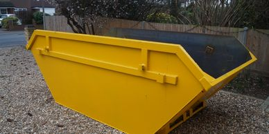 New and Clean skips in Hersham